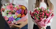 букет тюльпанов в Компания baltiyskiy_buket