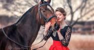 фотосессия с лошадью в Конный клуб «Баядера»