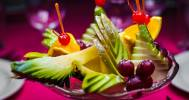 фруктовая тарелка в Караоке-бар «Фанера»