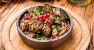 грузинское блюдо в Грузинский ресторан «Бахтриони»