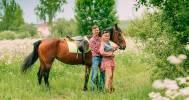 катание на лошади в Конный клуб «Баядера»