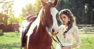 конная прогулка в Частный конный клуб «Усадьба» в Марфино