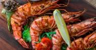 креветки гриль в Паб Shrimp