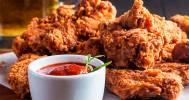 курица с кетчупом в Ирландский паб Murphy's Pub