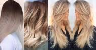 модное окрашивание волос в Сеть салонов красоты «Золотой Локон»