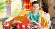 ребенок в детском центре в Семейный парк активного отдыха «Детский клуб»