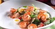 салат с креветками в Ресторан Vision