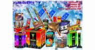 Салюты, хлопушки, ракеты, бенгальские и римские свечи, петарды, фестивальные шары в Магазин пиротехники и фейерверков Pyroblast в