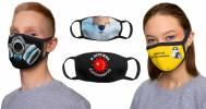Скидка 30% на тканевые маски с принтом в Интернет-магазин «Print Bar»