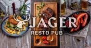 Скидка 30% от легендарной сети в ресторане Jager на Гороховой в Пивной ресторан Jager