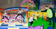 Скидка 50% на день развлечений в JUNGLEAND в Детский развлекательный центр JUNGLEAND