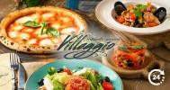 Скидка 50% в круглосуточном итальянском ресторане на В.О в Ресторан Villaggio