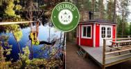 Скидка 50% в веревочном парке и аренду гриль-домиков в Веревочный парк «Greenvald Парк Скандинавия»