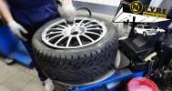 Скидки до 70% на услуги шинного центра в Шинный центр NTYRE