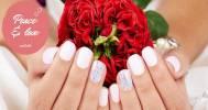 Скидки до 82% на ногтевой сервис на Тверской в Сеть студий Peace & Love nails