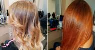 сложное окрашивание волос в Мастер Ирина