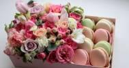 цветы в коробке в Компания baltiyskiy_buket