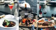 в Панорамный ресторан в яхт-клубе «Паруса»