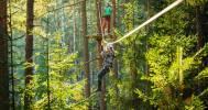 Веревочный парк в Веревочный парк «Greenvald Парк Скандинавия»