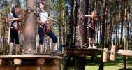 Веревочный парк в Веревочный парк «Северный»