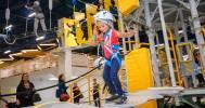 Веревочный парк «Высотный город» в «Питерлэнд» и «Гранд Каньон»