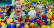 яма шаров в Парк развлечений «Выше радуги» в ТРК «Лондон Молл»