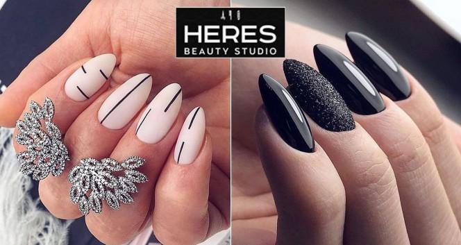 Скидка 50% на маникюр в Heres beauty studio