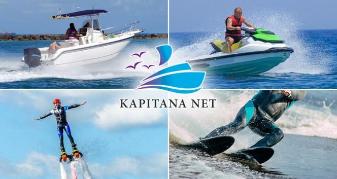 Скидка 50% на развлечения на воде от компании KAPITANA NET в Компания «КАПИТАНА НЕТ.РУ»