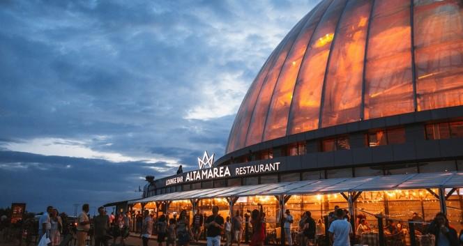 Скидка 50% на все в панорамном ресторане Alta Marea в ТРК «Питерлэнд» в Ресторан Alta Marea