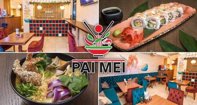 Скидка 50% на все в ресторане паназиатской кухни в Ресторан Pai Mei