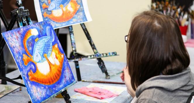 Скидка 50% от студии живописи «ШтангенЦиркуль» в Студия живописи «ШтангенЦиркуль»