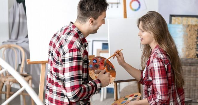 Скидки до 40% на мастер-классы и арт-свидание в Творческая студия ART CLUB