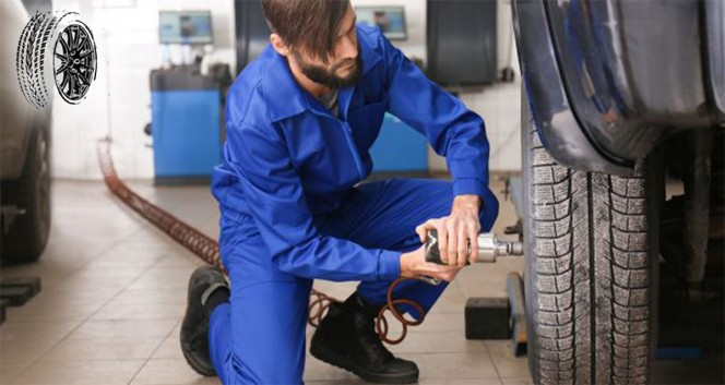 Скидки до 50% на шиномонтаж и ремонт колес на Салова в Шинный центр «На Салова, 27»