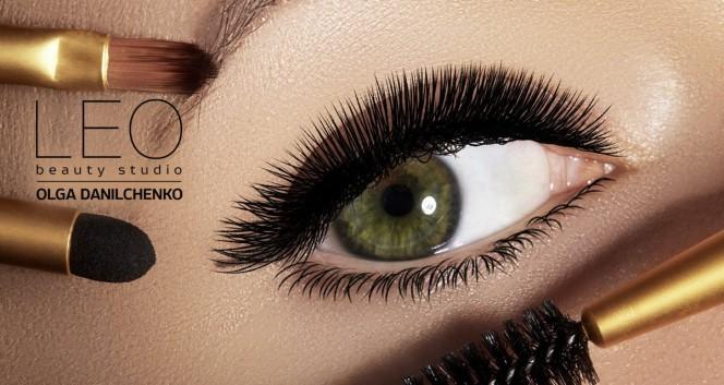 Скидки до 54% на услуги для бровей и ресниц в салоне Leo в Сеть салонов красоты Leo