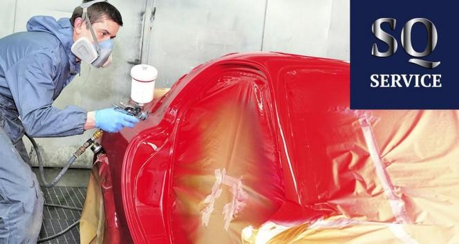 Скидки до 55% на окраску авто в Автосервис SQ