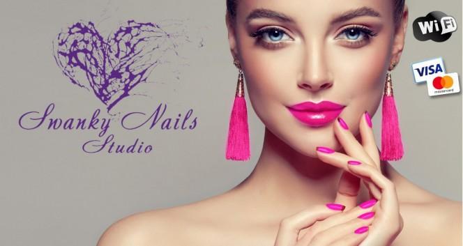 Скидки до 60% на услуги студии маникюра Swanky Nails в Студия маникюра Swanky Nails