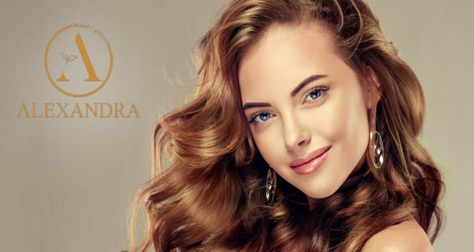 Скидки до 65% на услуги для волос в салоне «Александра» в Салон красоты «Александра»