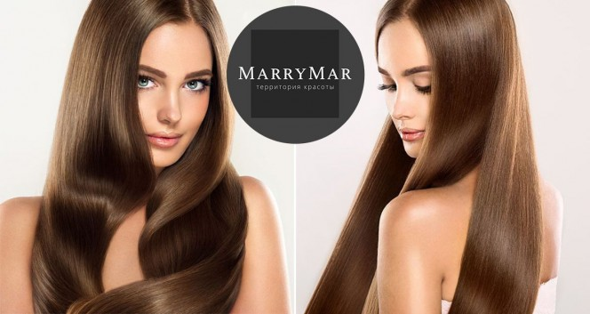 Скидки до 65% на услуги для волос в Территория красоты MarryMar