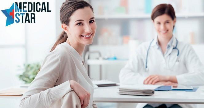 Скидки до 78% на обследования для женщин в Medical Star в Многопрофильный медицинский центр Medical Star