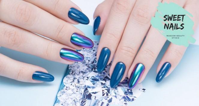 Скидки до 80% на услуги для ногтей в Sweet Nails в Сеть Sweet Nails