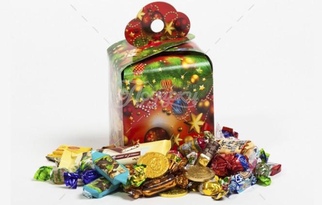 Новогодние сладкие новые подарки 60